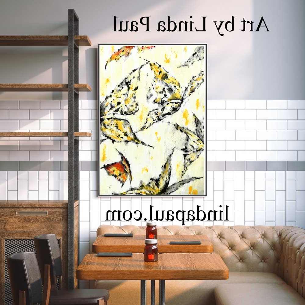 Tile Canvas Wall Art Pertaining To Latest Wall Art For Restaurants And Hotels – Original Artwork And Tiles (View 3 of 15)
