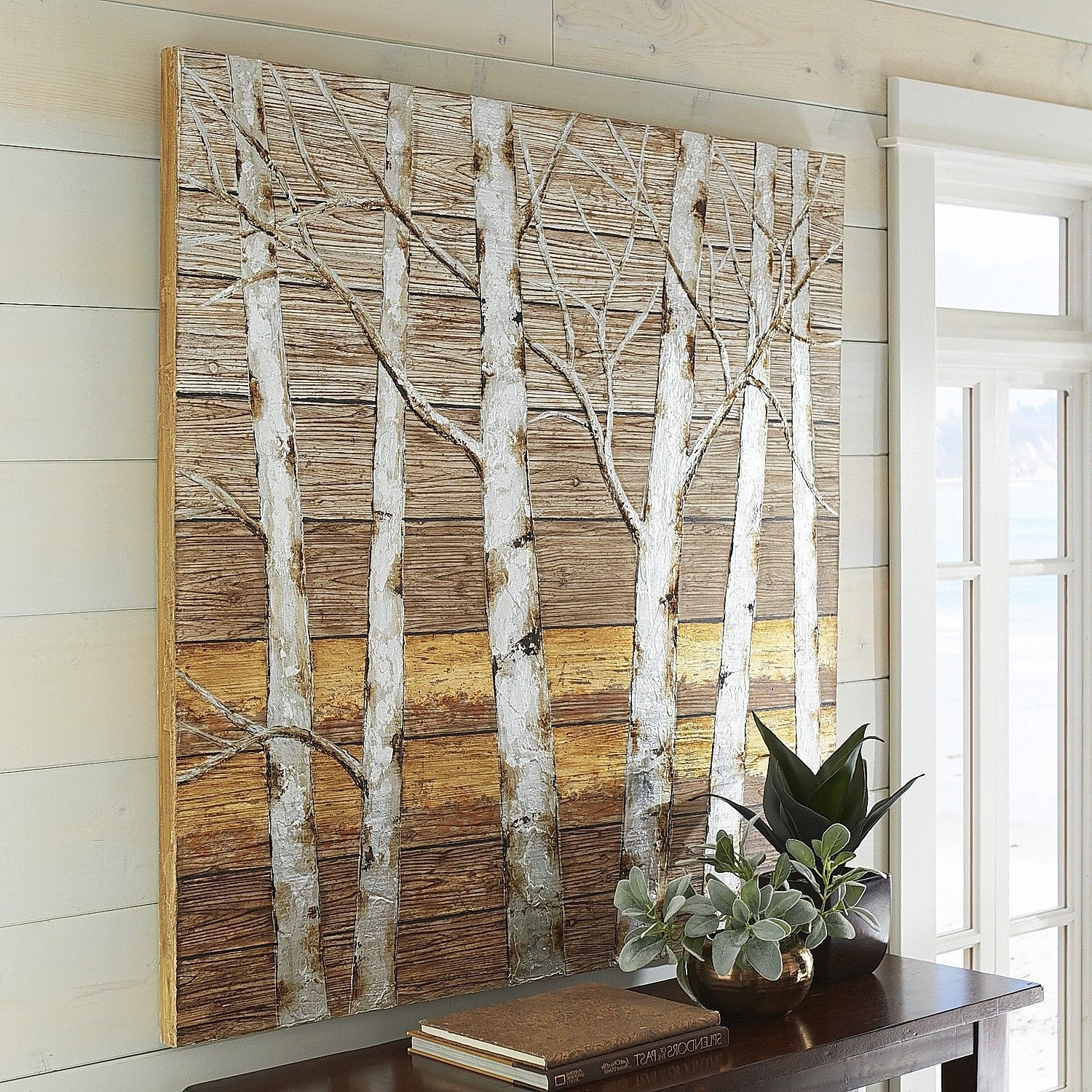 Tree Inside Best And Newest Birch Tree Wall Art (View 3 of 15)