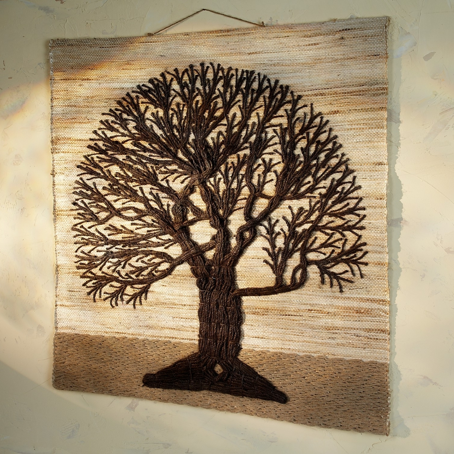 Tree Of Life Wall Art In 2018 Jute Tree Of Life Wall Hanging (View 12 of 15)