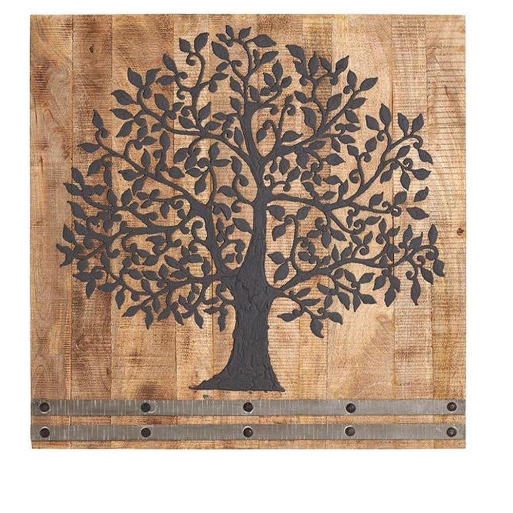 Tree Of Life Wall Art With Regard To Most Recent 36 In. H X 36 In (View 4 of 15)