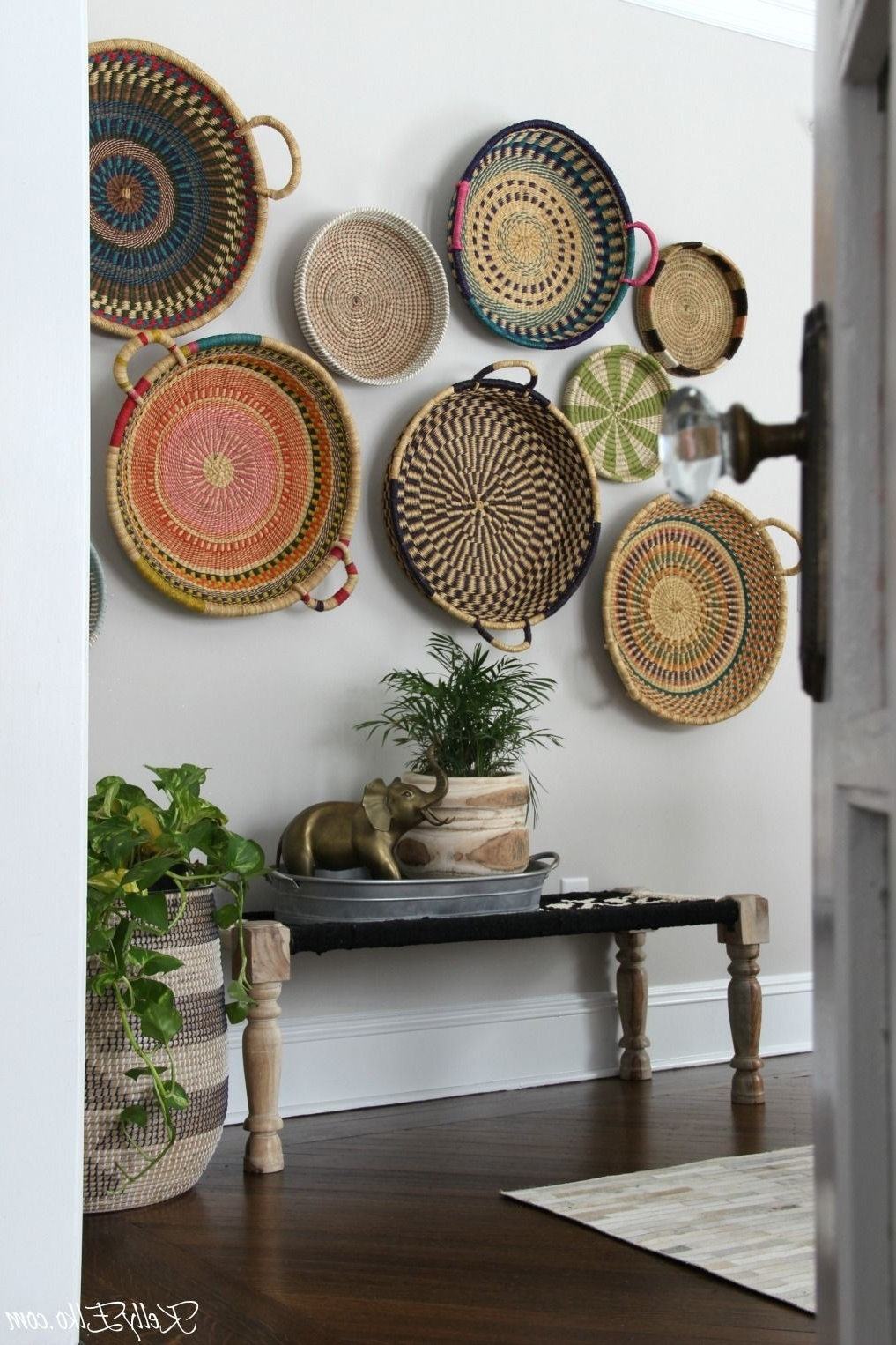 Trendy Colorful Basket Gallery Wall (View 14 of 15)