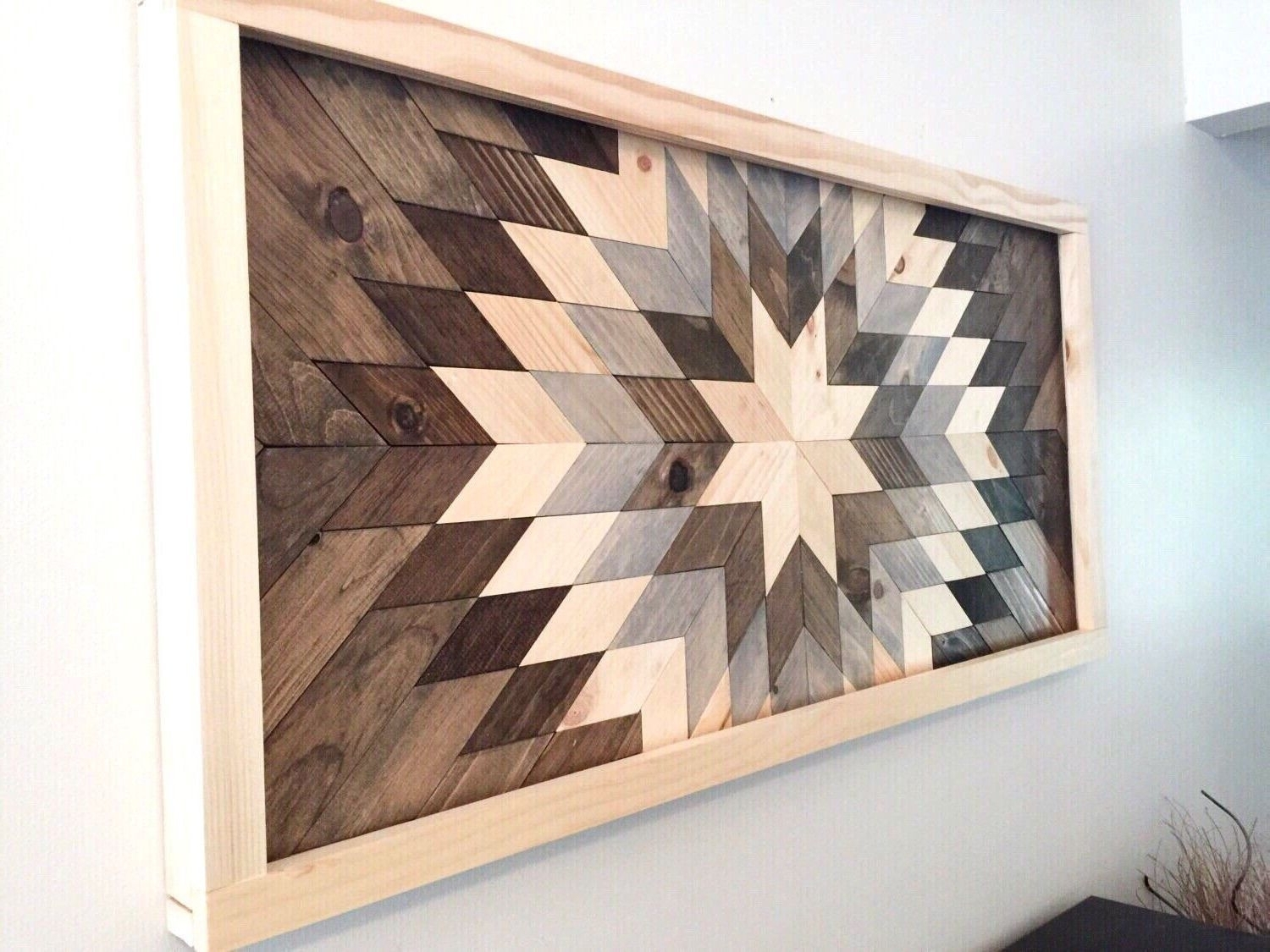 Trendy Diy Wooden Wall Art Inspiration Home Design Pinterest Inspiration Of In Wooden Wall Art (View 15 of 15)