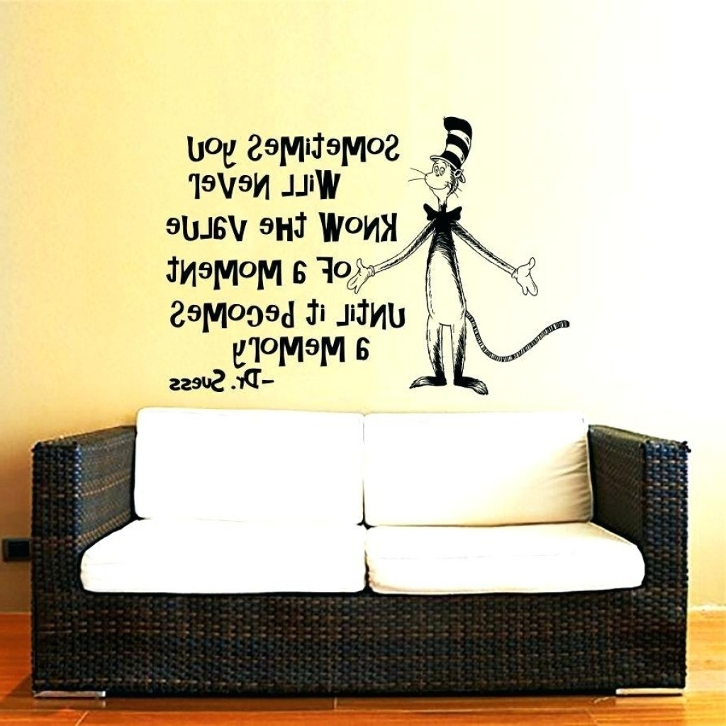 Trendy Dr Seuss Wall Art For 39 Lovely Dr Seuss Wall Stickers (View 10 of 15)