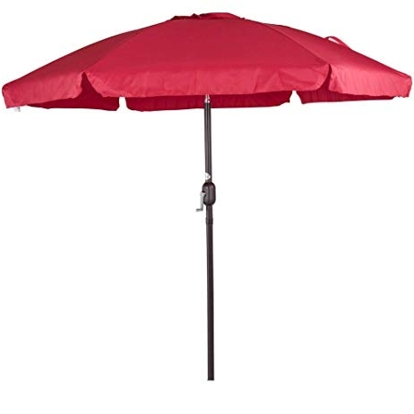 Trendy Drape Patio Umbrellas With Regard To Amazon : Sundale Outdoor  (View 15 of 15)