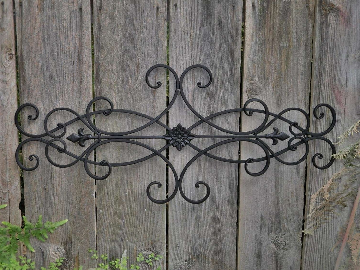 Trendy Iron Wall Art For Outdoor Metal Wall Decor Awesome Good Art Wrought Iron 83 For Your (View 3 of 15)