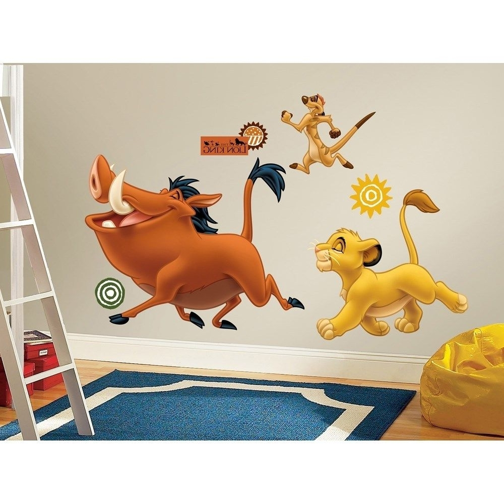Trendy Lion King Wall Art Inside Zspmed Of Lion King Wall Decals (View 5 of 15)