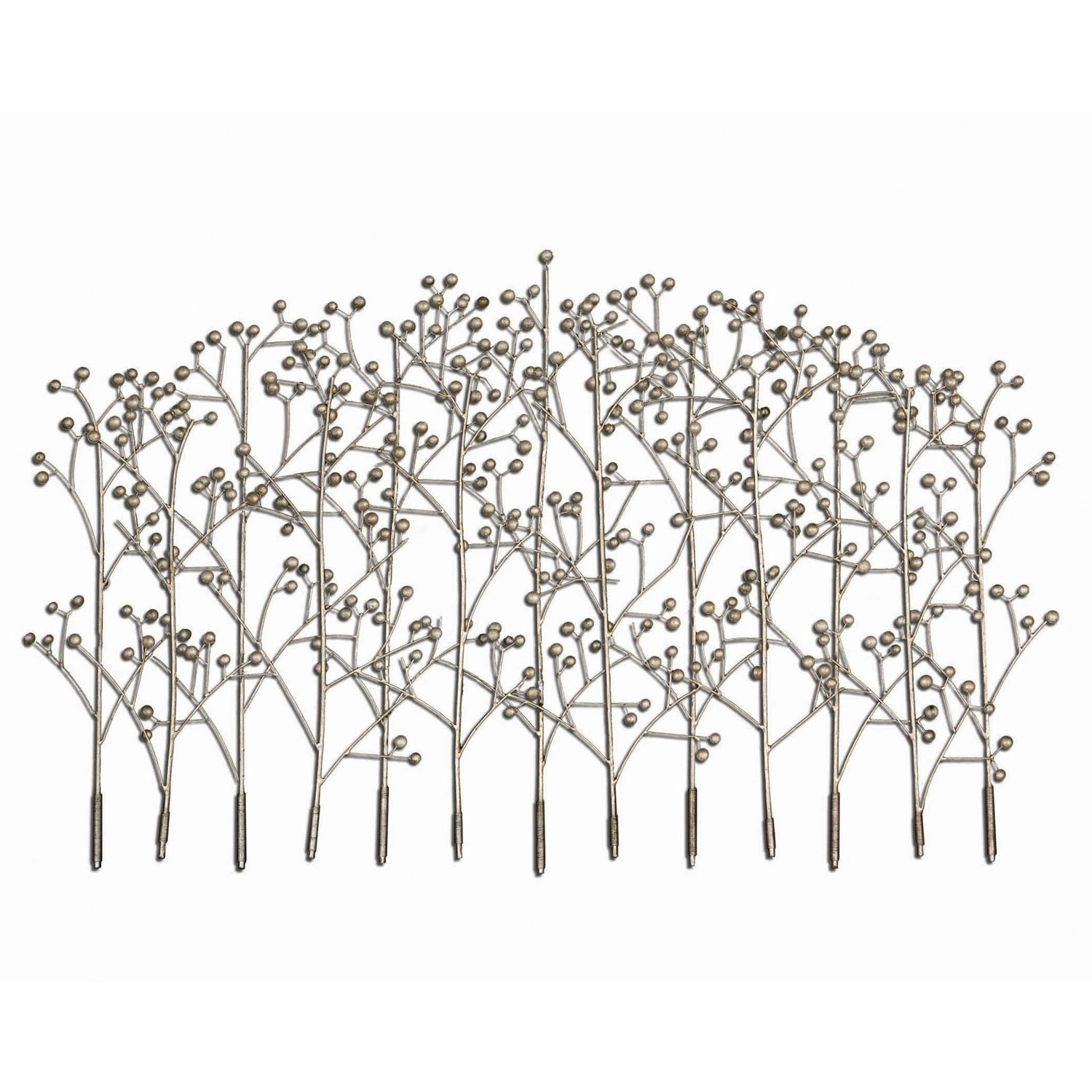 Trendy Metal Wall Art Trees Inside Uttermost Iron Trees Metal Wall Art (View 8 of 15)
