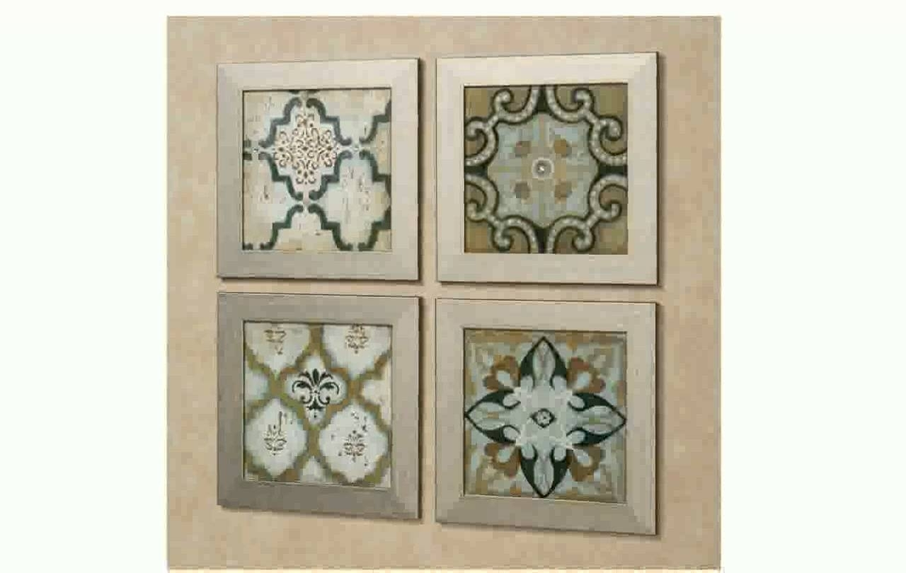 Trendy Moroccan Wall Art within Moroccan Wall Art - Youtube