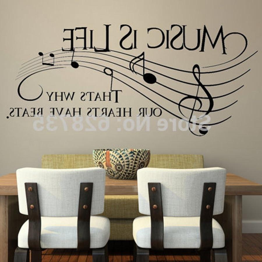 Trendy Music Wall Art Regarding Beautiful Music Wall Decor – Wall Decoration Ideas (View 14 of 15)