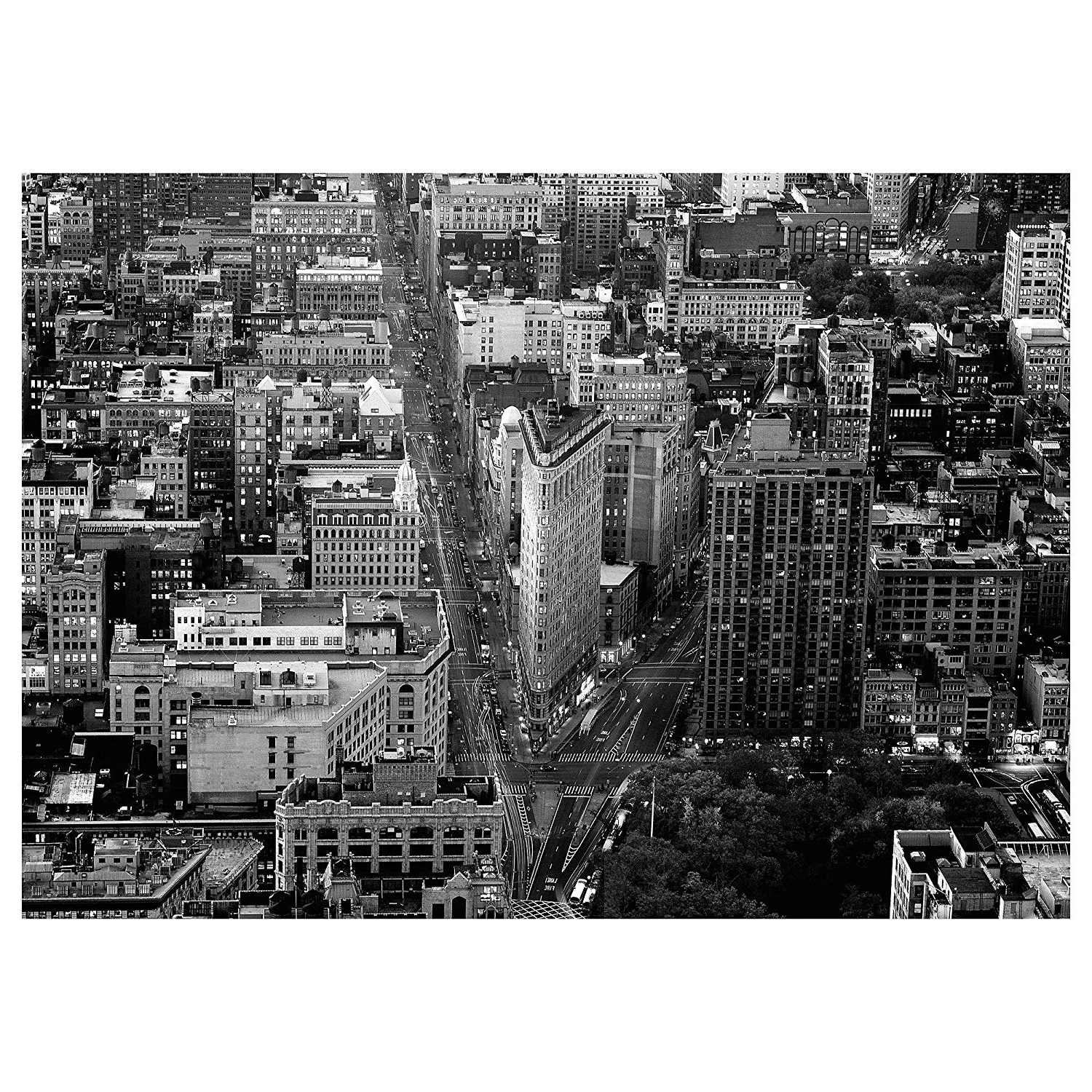 Trendy New York Canvas Wall Art Throughout Amazon: Ikea Premiär Picture, Flatiron Building, New York (View 14 of 15)
