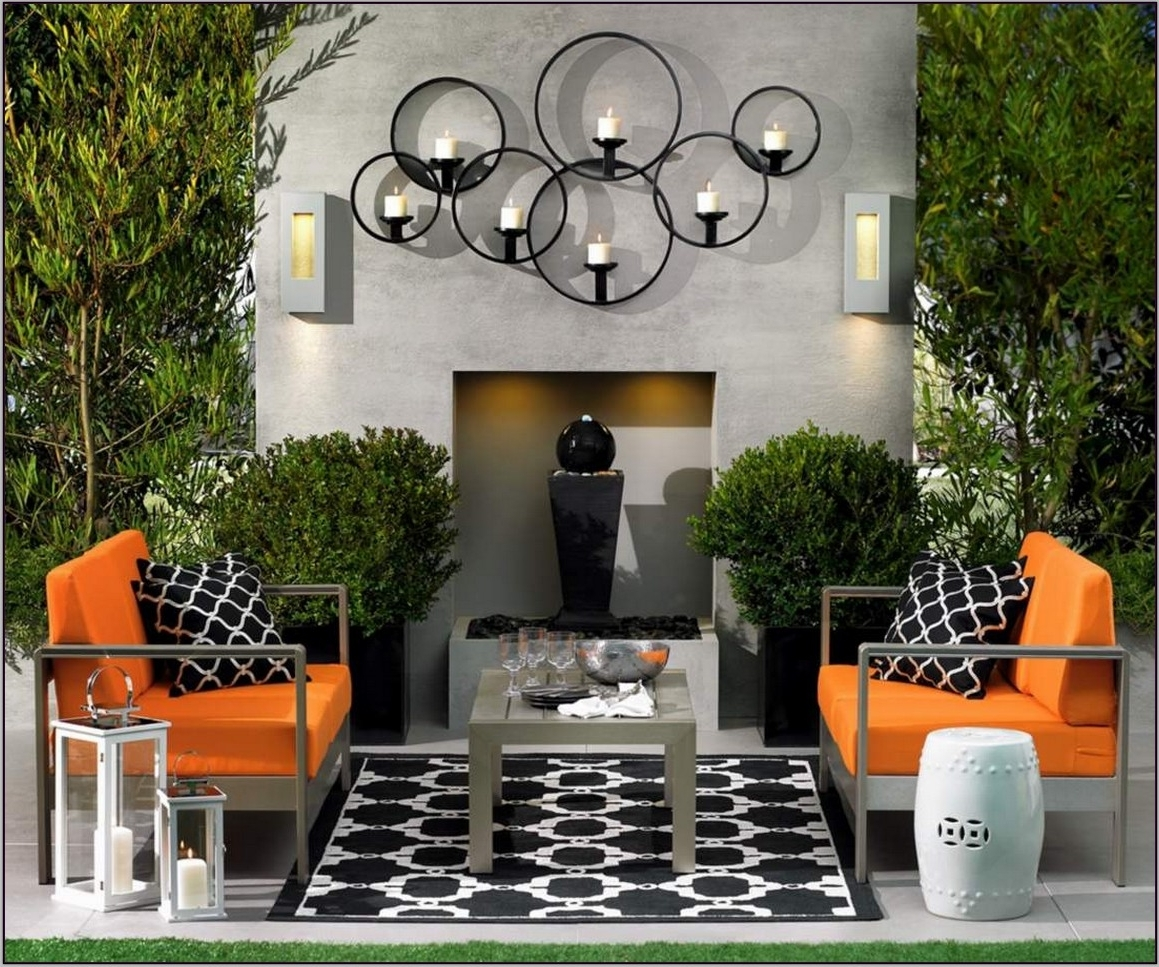 Trendy Outdoor Wall Art Stunning Exterior Wall Decor – Home Design And Wall Intended For Outdoor Wall Art (View 14 of 15)