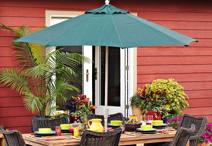 Trendy Patio: Interesting Lowes Patio 2017 Collection Sears Outdoor Regarding Lowes Patio Umbrellas (View 14 of 15)