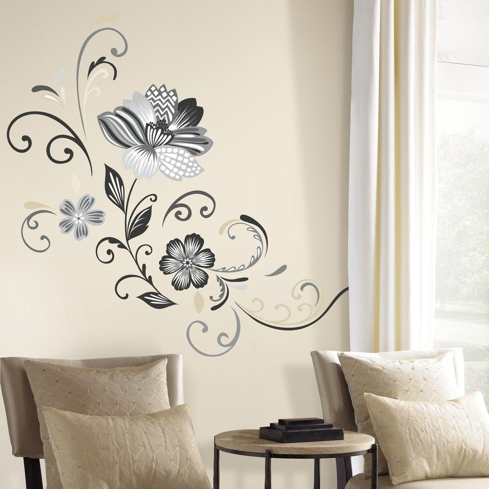 Trendy Peel N Stick Wall Decals – Blogtipsworld Within Stick On Wall Art (View 15 of 15)