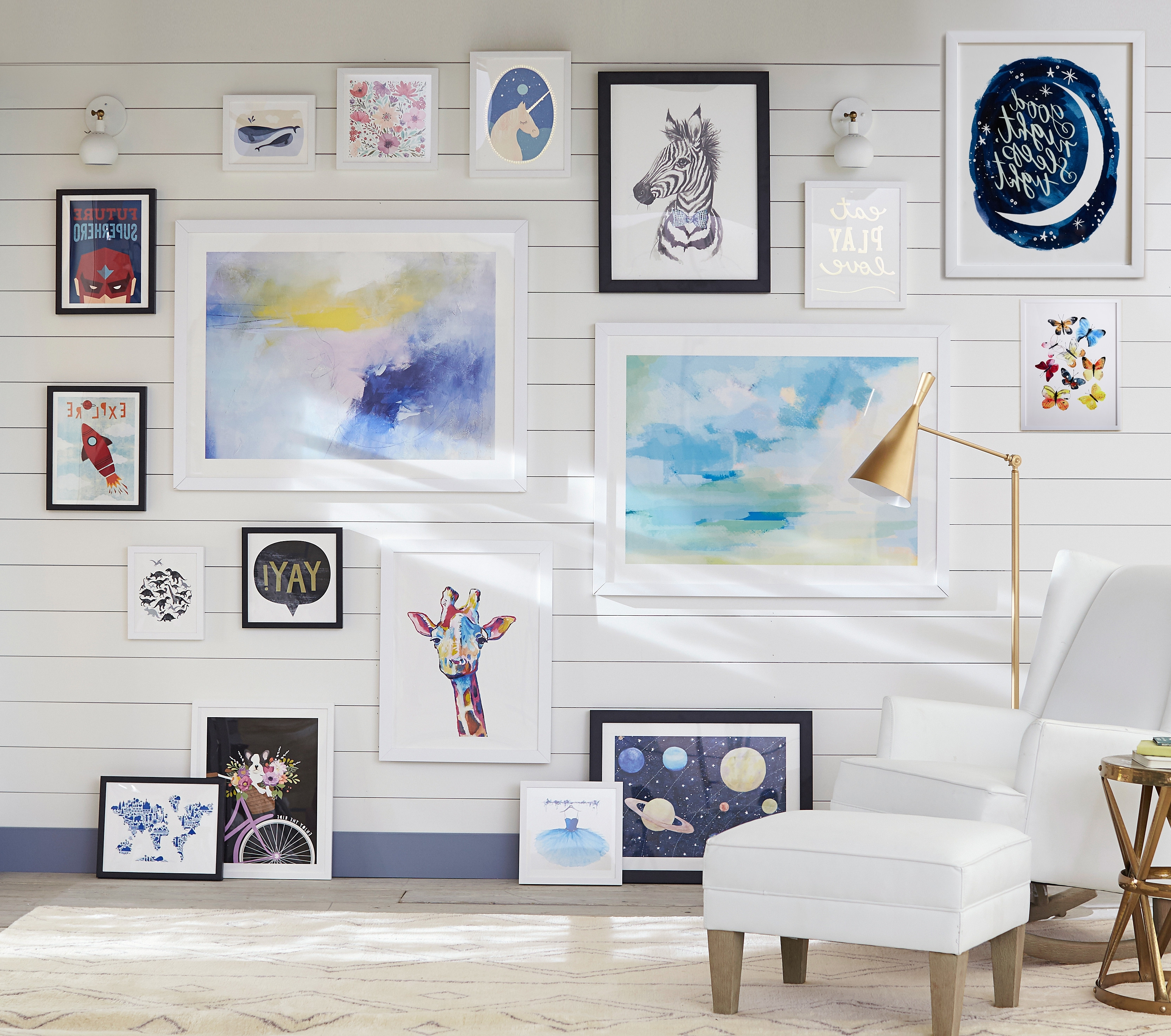 Trendy Pottery Barn Kids And Pbteen Debut Exclusive Wall Art Collection Throughout Pottery Barn Wall Art (View 7 of 15)