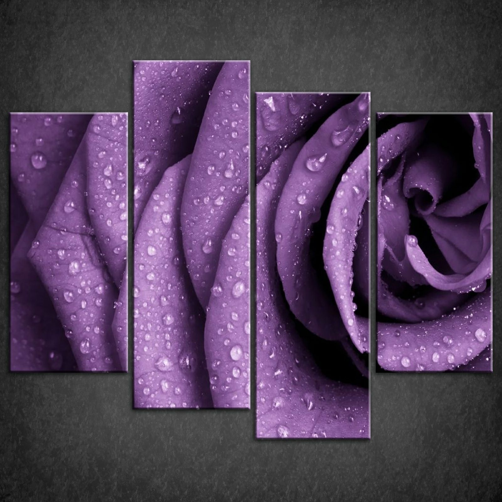 Trendy Purple Wall Art Canvas Regarding Pretty Purple Canvas Wall Art — Andrews Living Arts Andrews Living Arts (View 14 of 15)