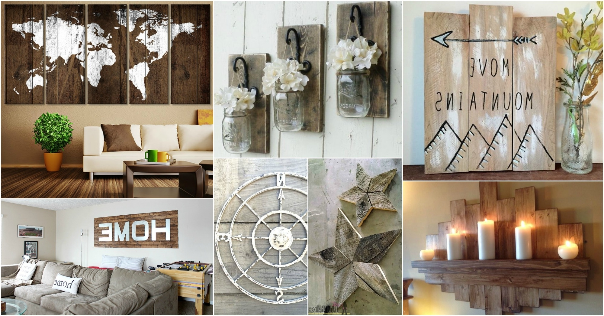 Trendy Rustic Wall Art Ideas To Spice Up The Atmosphere For Rustic Wall Art (View 15 of 15)