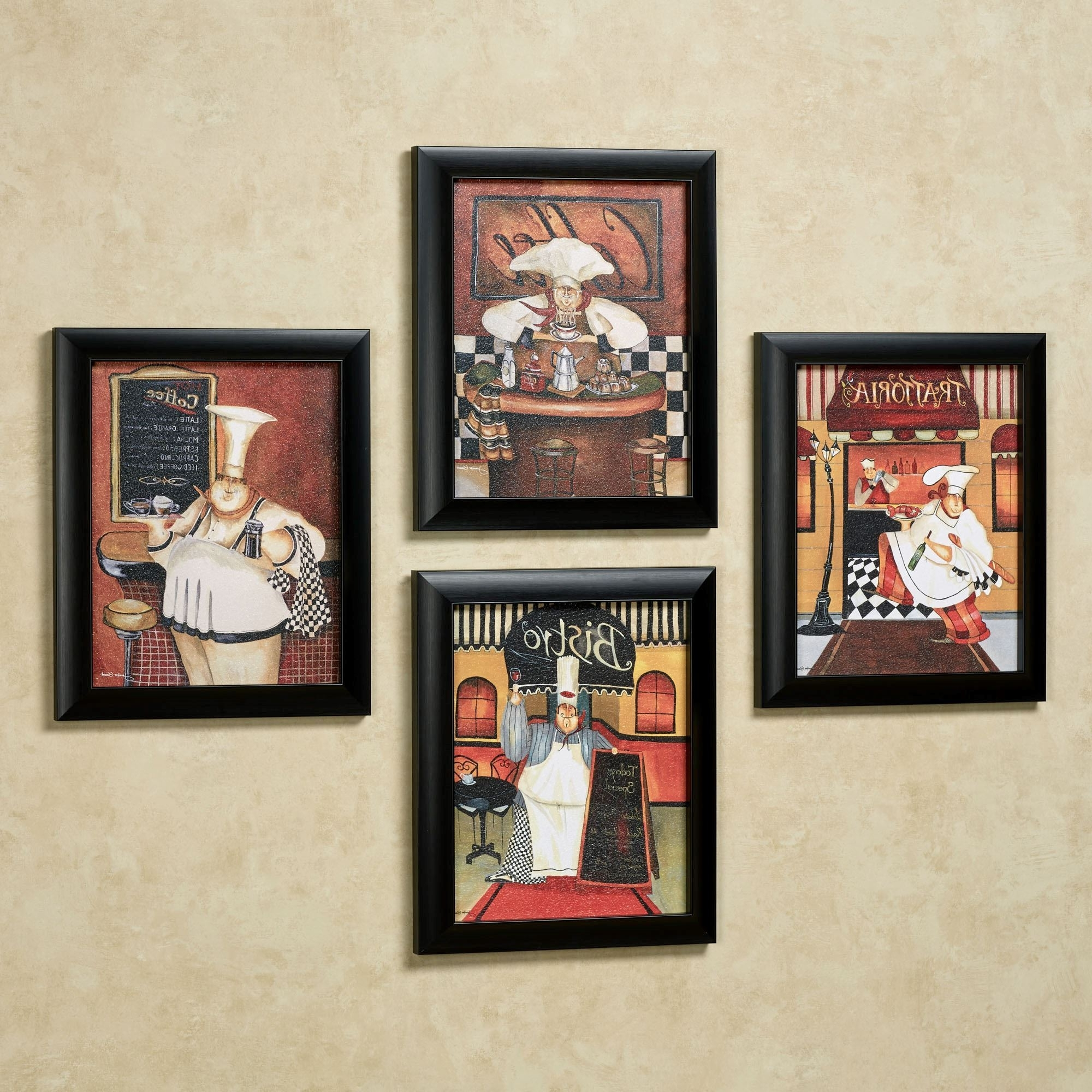 Trendy Sonoma Chef Framed Wall Art Set With Wall Art Sets (View 9 of 15)