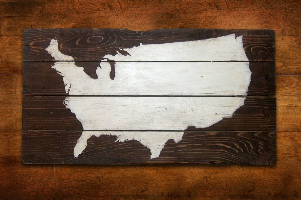 Trendy Us Map Wall Art For Us Map Wall Cute Wall Art Usa – Wall Decoration Ideas (View 6 of 15)
