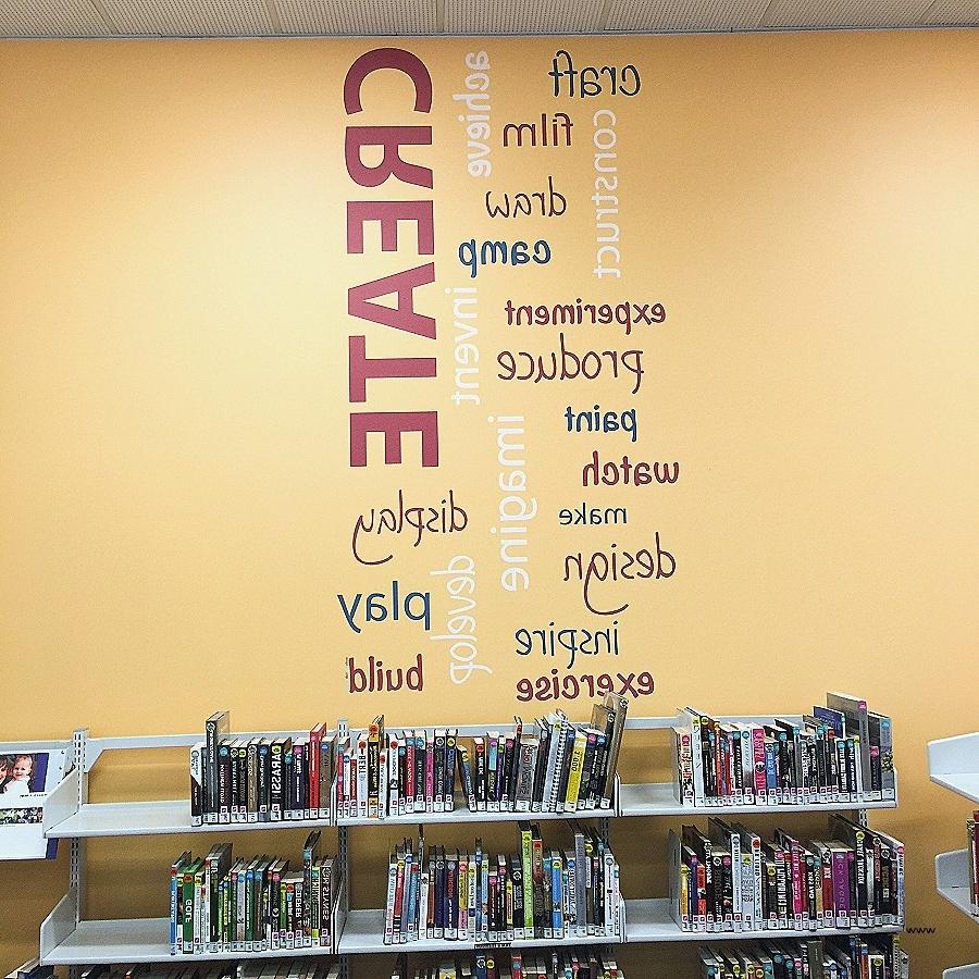 Trendy Wall Art: Elegant Word Art For Wal ~ Robotsgonebad Regarding Word Art For Walls (View 14 of 15)