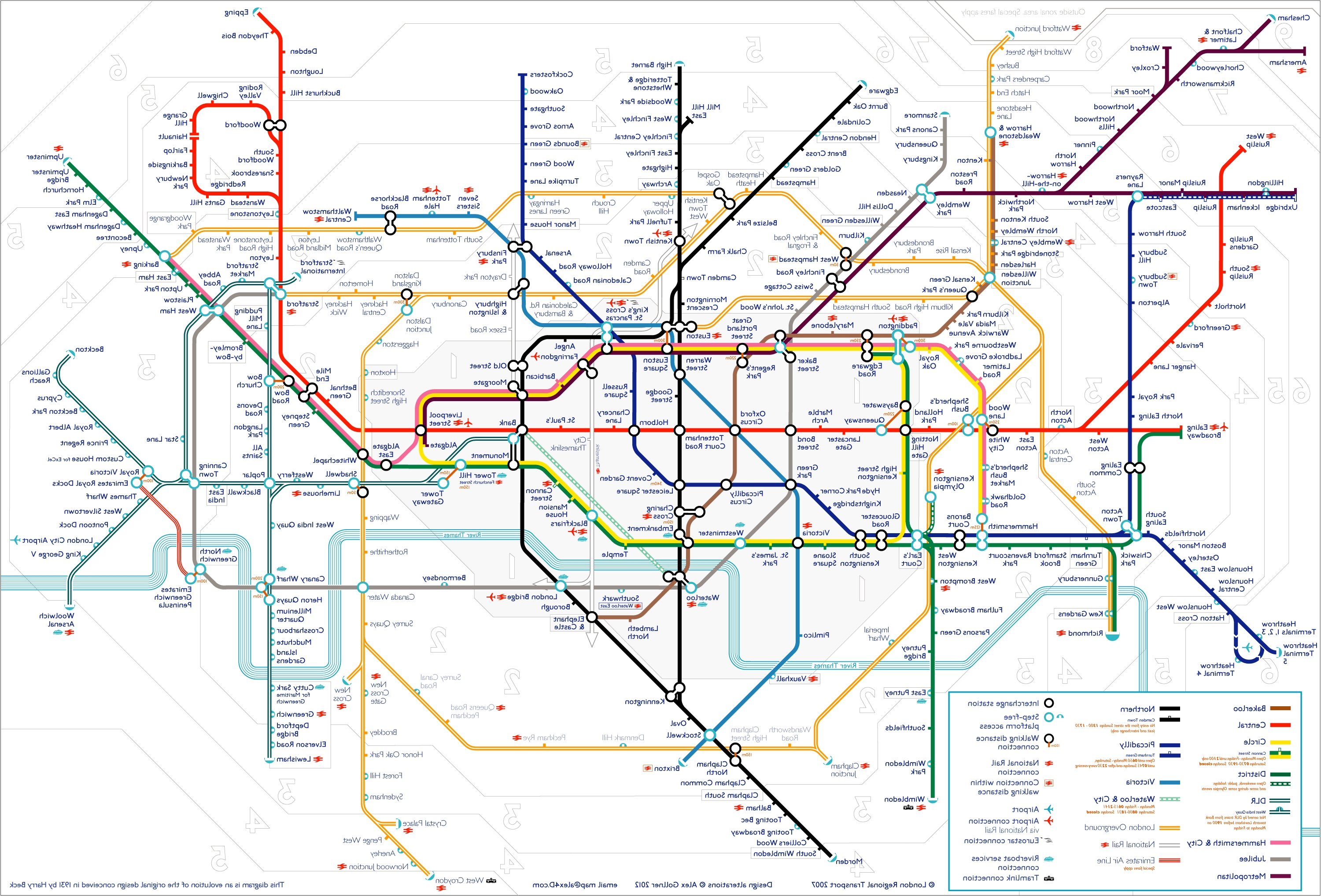 Tube Map (View 8 of 15)