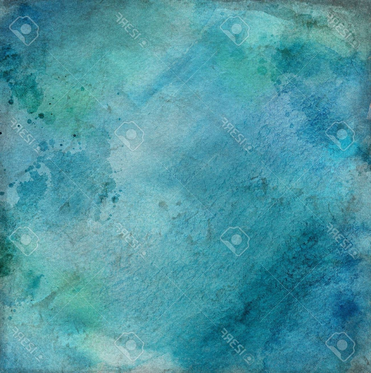Turquoise Wall Art Pertaining To Most Recent Abstract Grunge Decorative Navy Blue Dark Stucco Wall (View 14 of 15)