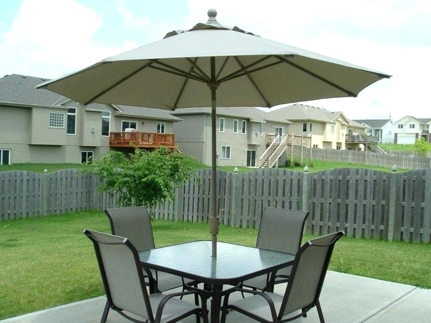 Umbrella Stand Patio Sears Outdoor Umbrella Stands Patio Set With regarding Recent Sears Patio Umbrellas