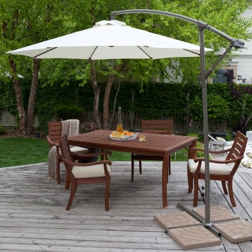 Umbrella Stand: Patio Umbrella: Coral Coast 9 Ft (View 13 of 15)