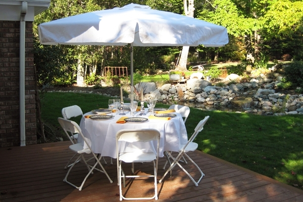 Umbrellas & Table Rentals For Burlington, Bellingham, Seattle throughout Well-known Patio Umbrellas For Rent
