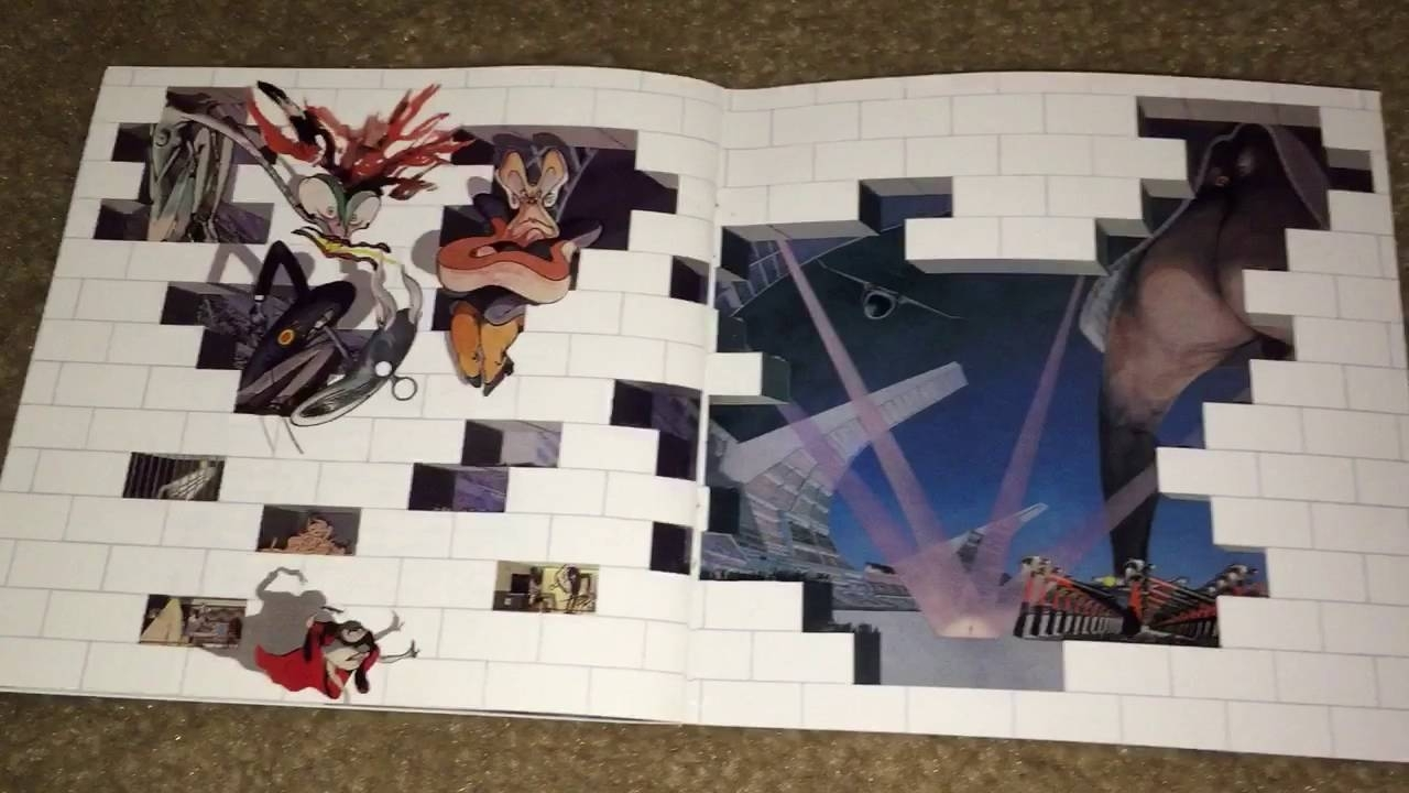 Unboxing Pink Floyd – The Wall – Youtube For Most Up To Date Pink Floyd The Wall Art (View 13 of 15)