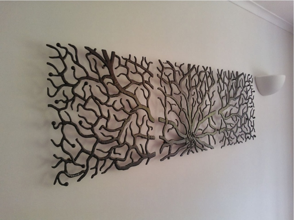 Unique Large Metal Wall Art Sculptures 12 In I Love You More Wall throughout Newest Metal Wall Art Sculptures