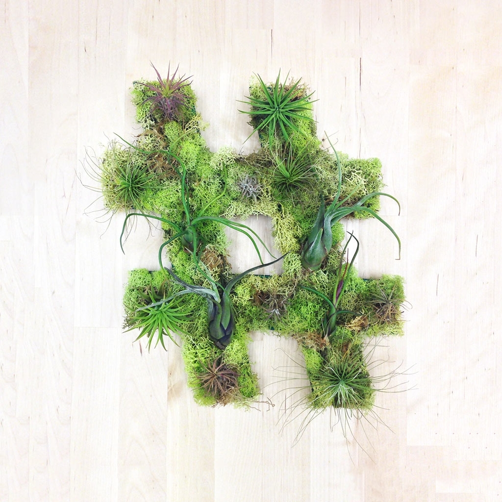 Unique Living Wall Plant Decor From Art We Heart - Design Milk intended for Recent Living Wall Art