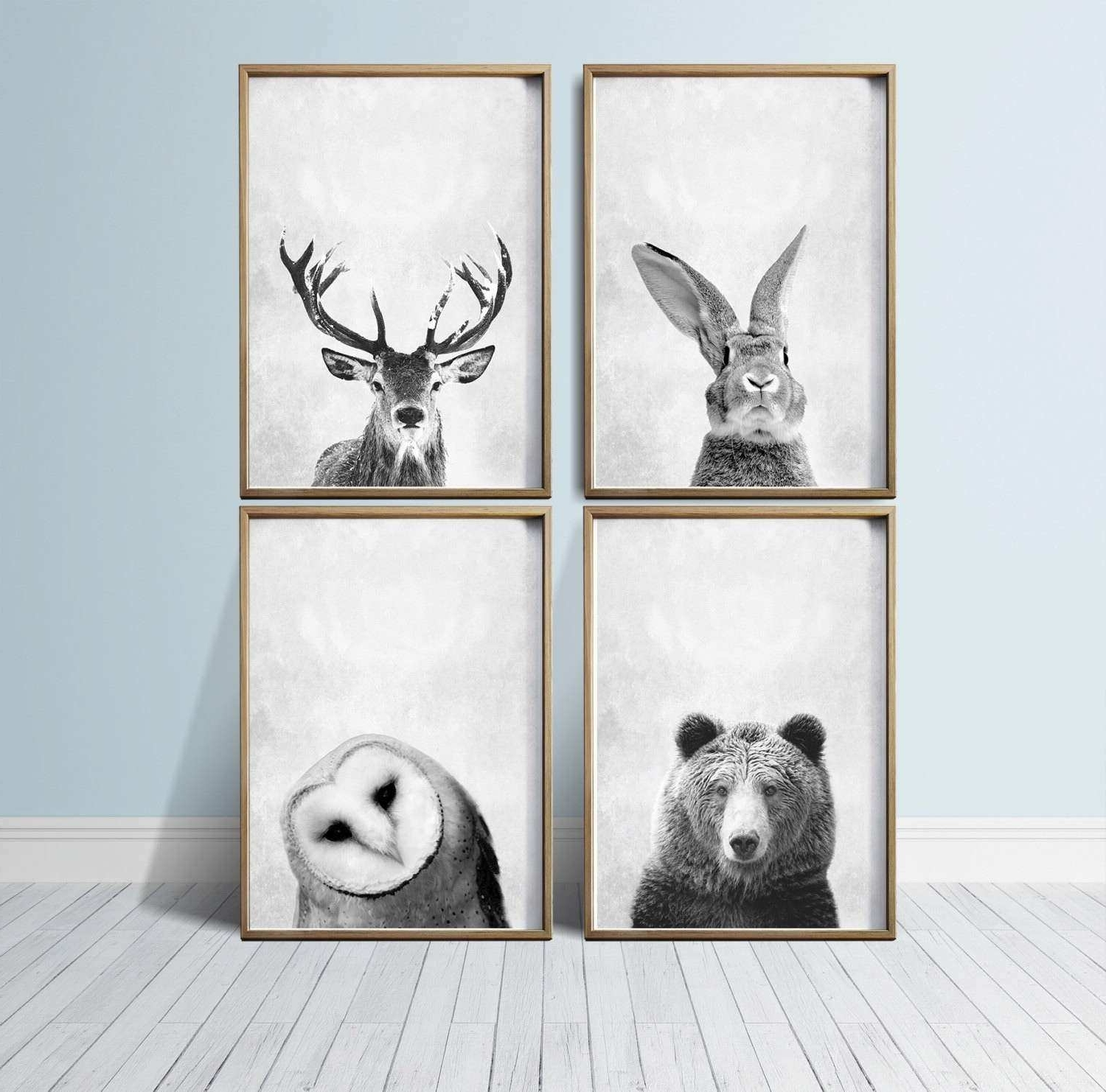 Unique Wall Art Prints Luxury Nursery Wall Art Animal Print Art Intended For Newest Woodland Nursery Wall Art (View 15 of 15)