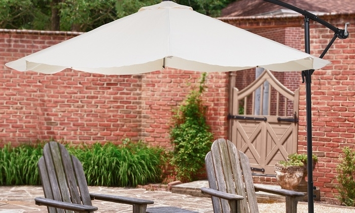 [%Up To 56% Off On Hanging Patio Umbrella | Groupon Goods Pertaining To Well Liked Hanging Patio Umbrellas|Hanging Patio Umbrellas Pertaining To Best And Newest Up To 56% Off On Hanging Patio Umbrella | Groupon Goods|Preferred Hanging Patio Umbrellas Regarding Up To 56% Off On Hanging Patio Umbrella | Groupon Goods|Current Up To 56% Off On Hanging Patio Umbrella | Groupon Goods With Hanging Patio Umbrellas%] (View 14 of 15)