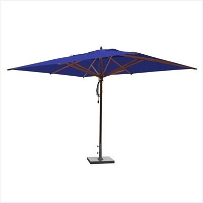 Vented Patio Umbrellas Intended For Widely Used Double Vented Patio Umbrellas » Awesome Hanover Outdoor Furniture (Gallery 5 of 15)