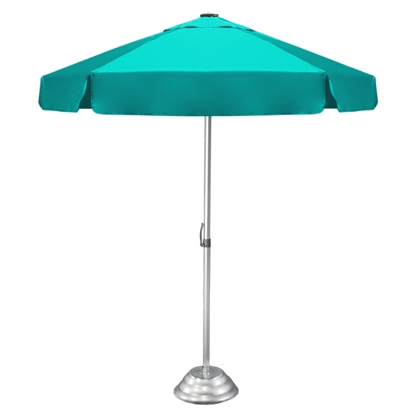 Vented Patio Umbrellas Pertaining To 2018 Vented Bistro Umbrella – Commercial Quality Patio Umbrella – Goimprints (Gallery 15 of 15)