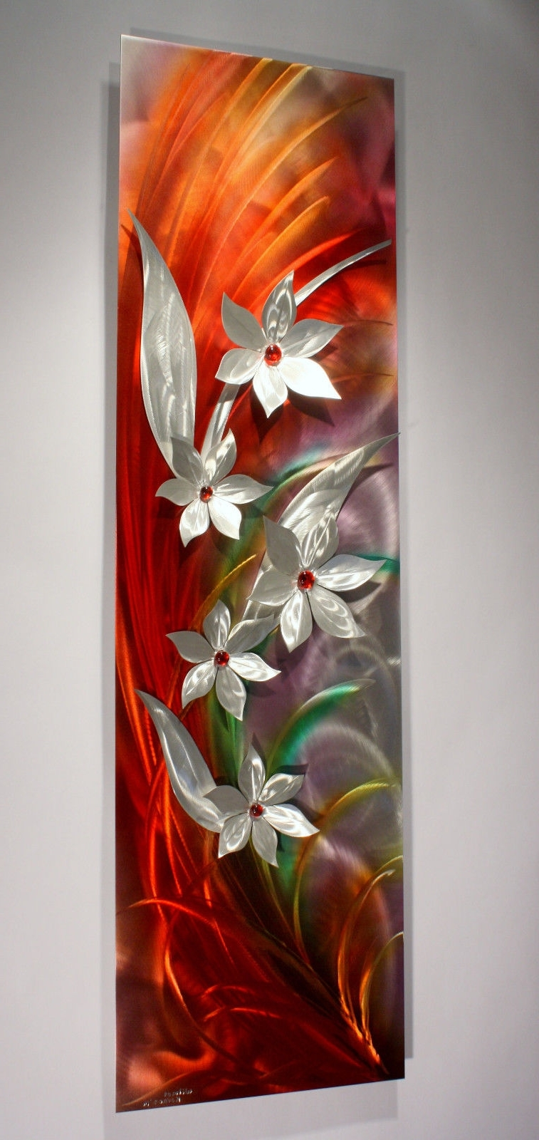 Featured Photo of Vertical Metal Wall Art
