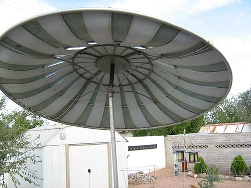Vintage Patio Umbrellas For Sale For 2017 54 Vintage Patio Umbrella, Shop Escada Designs Antique Beige Market (View 12 of 15)