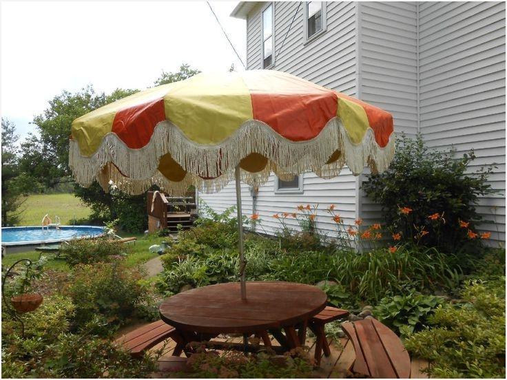 Vintage Patio Umbrellas For Sale inside Newest Vintage Patio Umbrella For Sale » Elysee Magazine