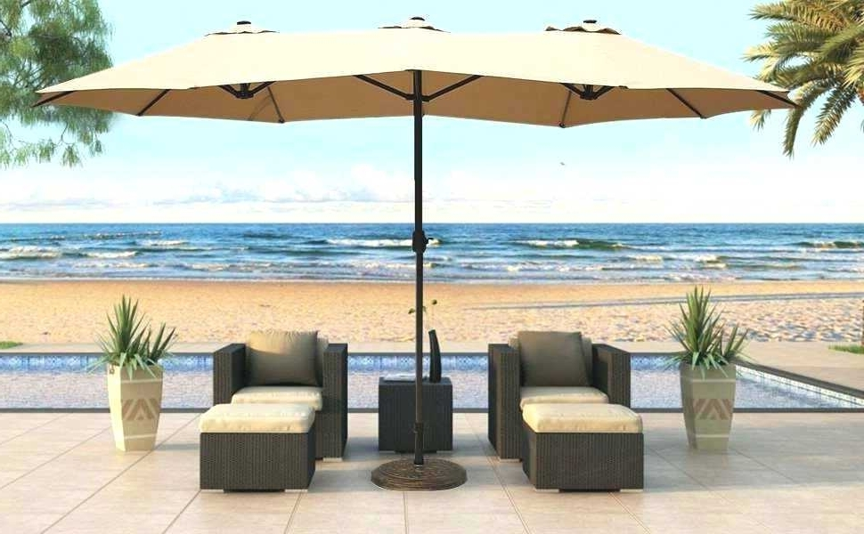 Vinyl Patio Umbrella Vinyl Patio Cafe Umbrella 6 Panel Vinyl Patio In Trendy Vinyl Patio Umbrellas With Fringe (Gallery 7 of 15)