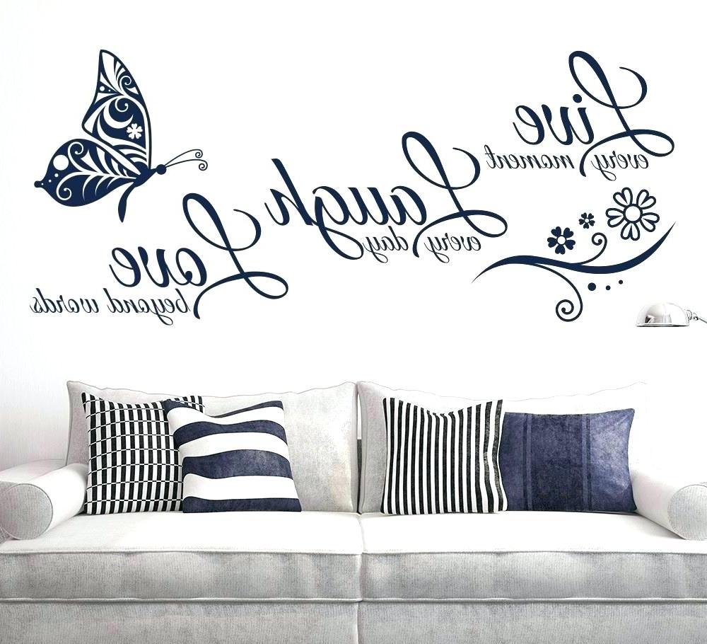 Vinyl Wall Art Pertaining To Fashionable Wall Decoration (View 6 of 15)