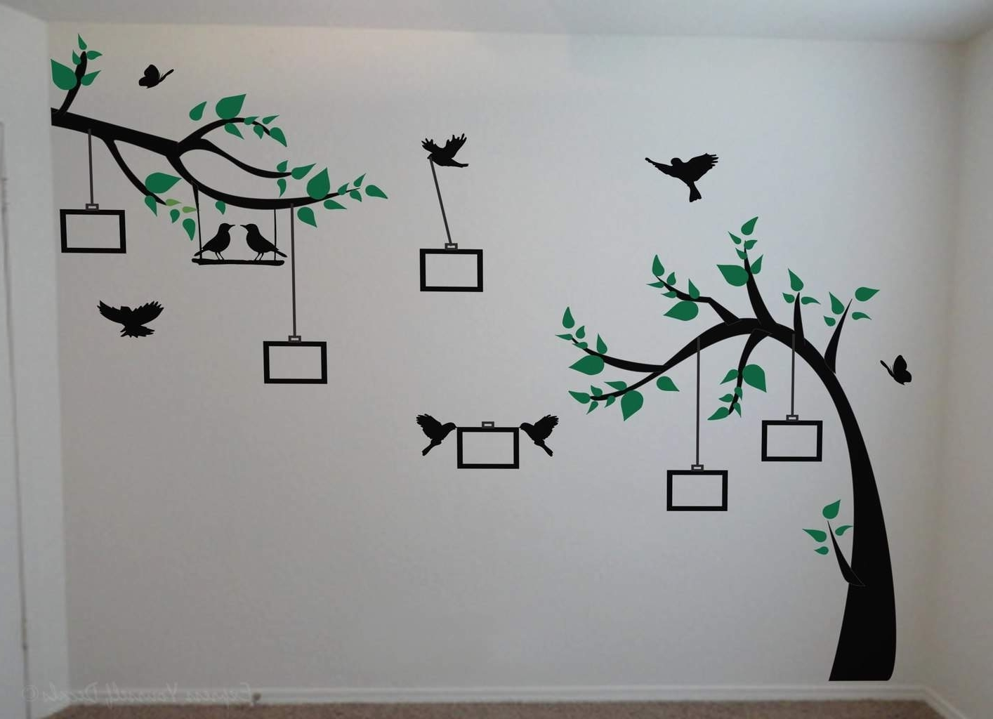 Wall Art Decal Sticker throughout Best and Newest Tree Wall Art