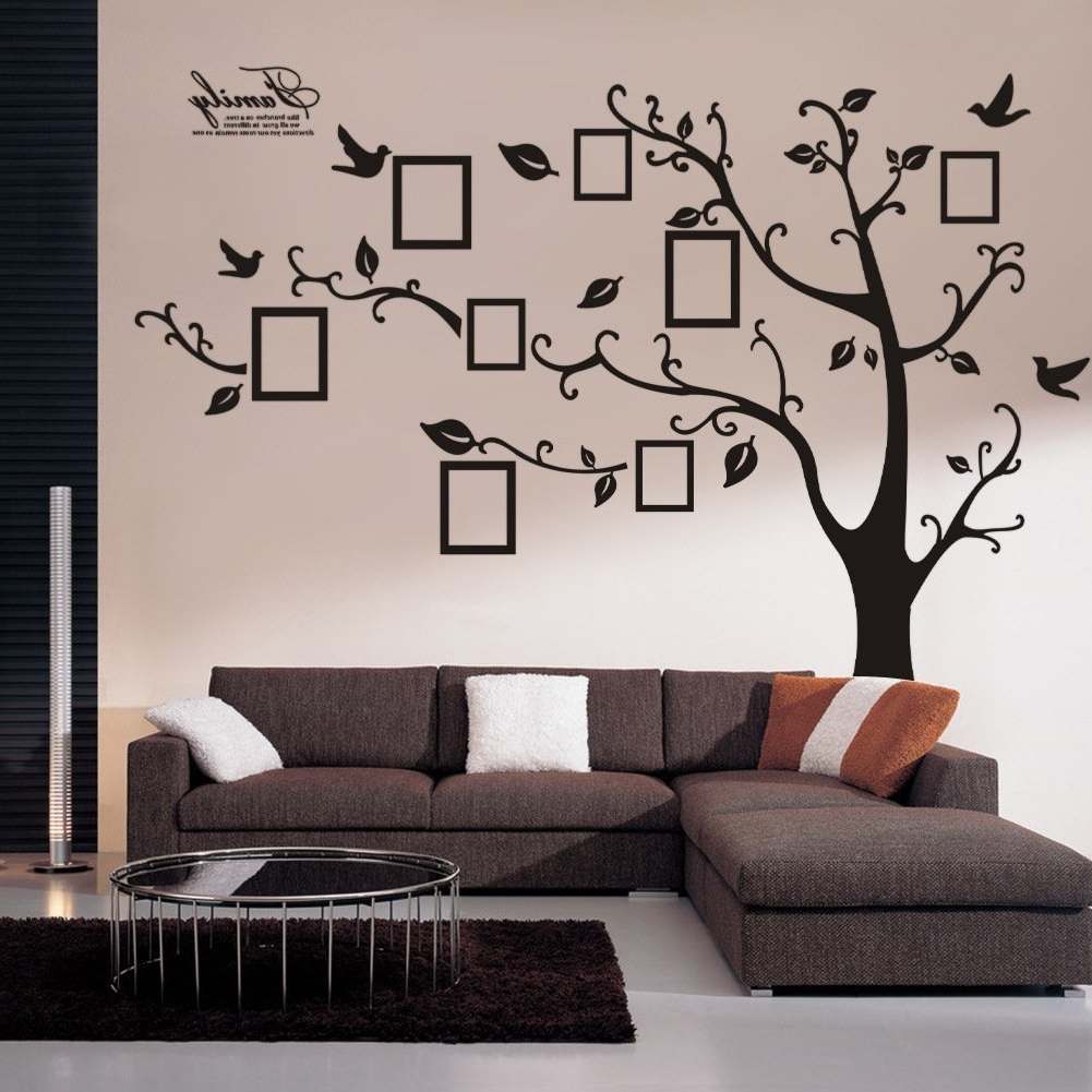 Wall Art Decals For Most Up To Date Decorative Wall Decals Wall Stickers Wall Decor – The Useful (View 11 of 15)