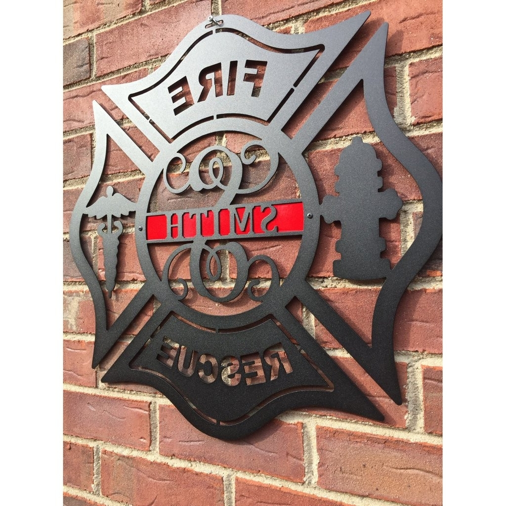 Wall Art Decorative With Regard To Most Recent Firefighter Wall Art (View 13 of 15)