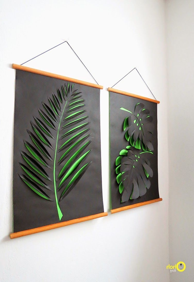 Wall Art Diy Throughout Most Recently Released Diy Wall Art – Affordable Art Ideas (View 12 of 15)