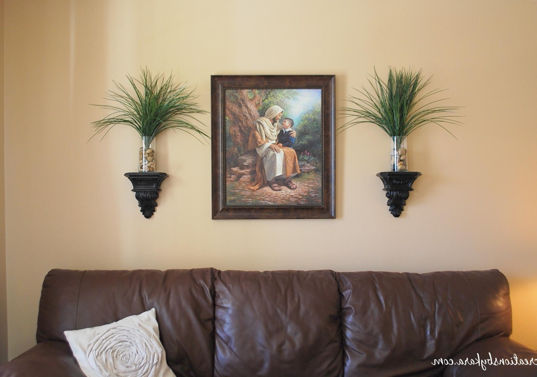 Wall Art Ideas For Living Room Regarding 2018 Decorating Living Room Wall Decor Ideas Big Wall Art For Living Room (View 6 of 15)
