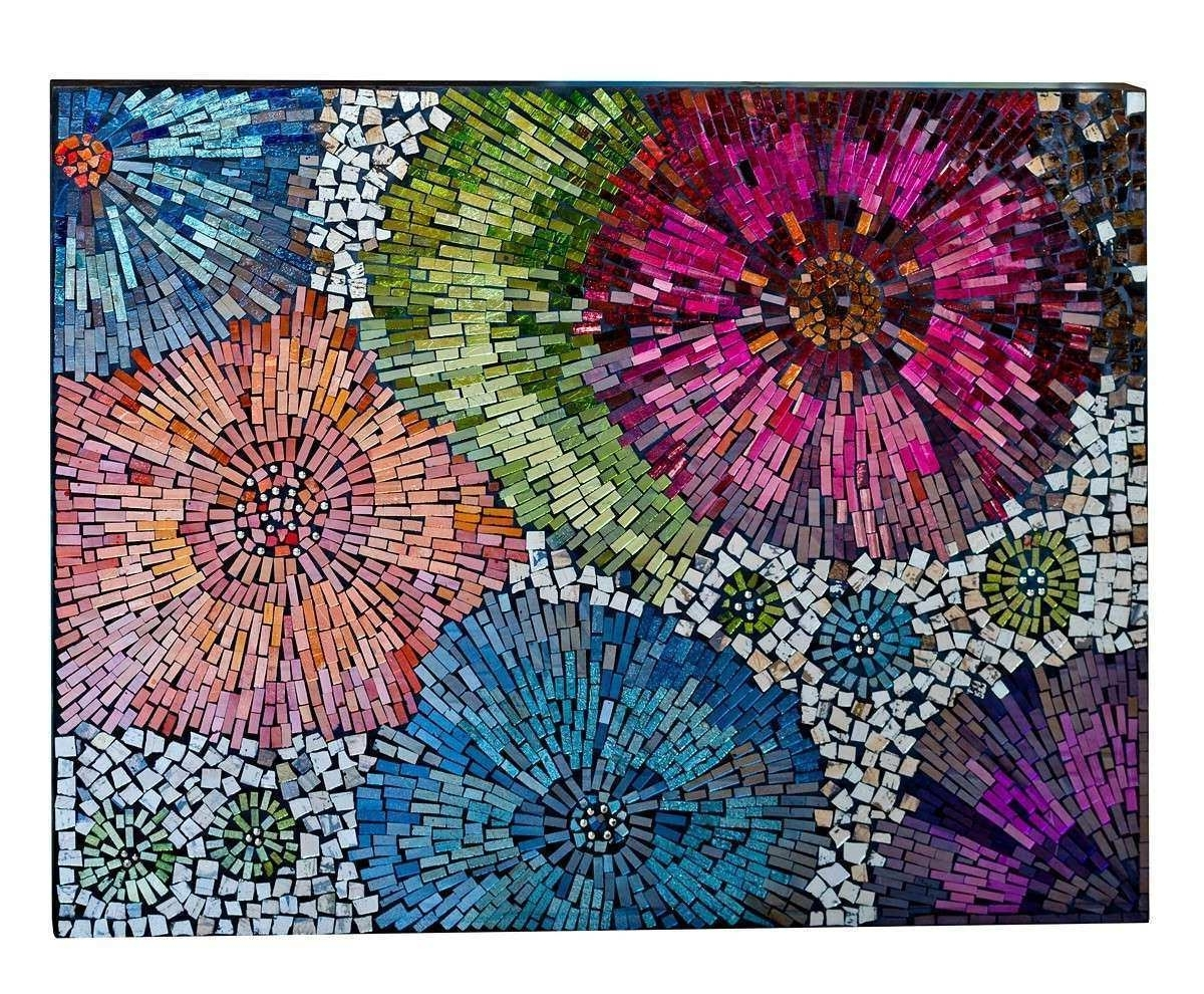Wall Art Ideas In Most Current Mosaic Wall Art (View 12 of 15)