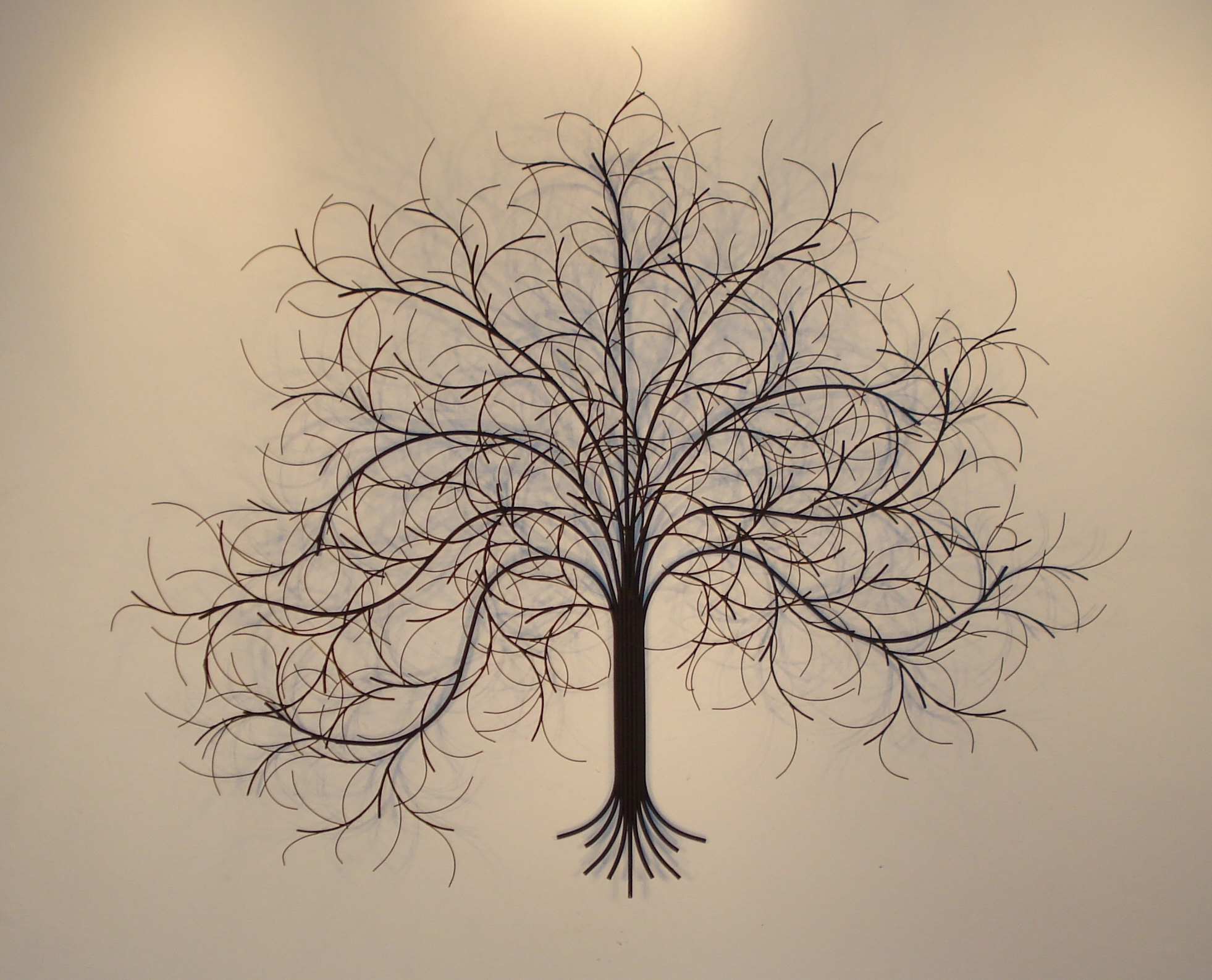 Wall Art Metal With Regard To Well Known March Tree Metal Wall Art – Metal Sculpture And Wall Decor – Gurtan (View 4 of 15)