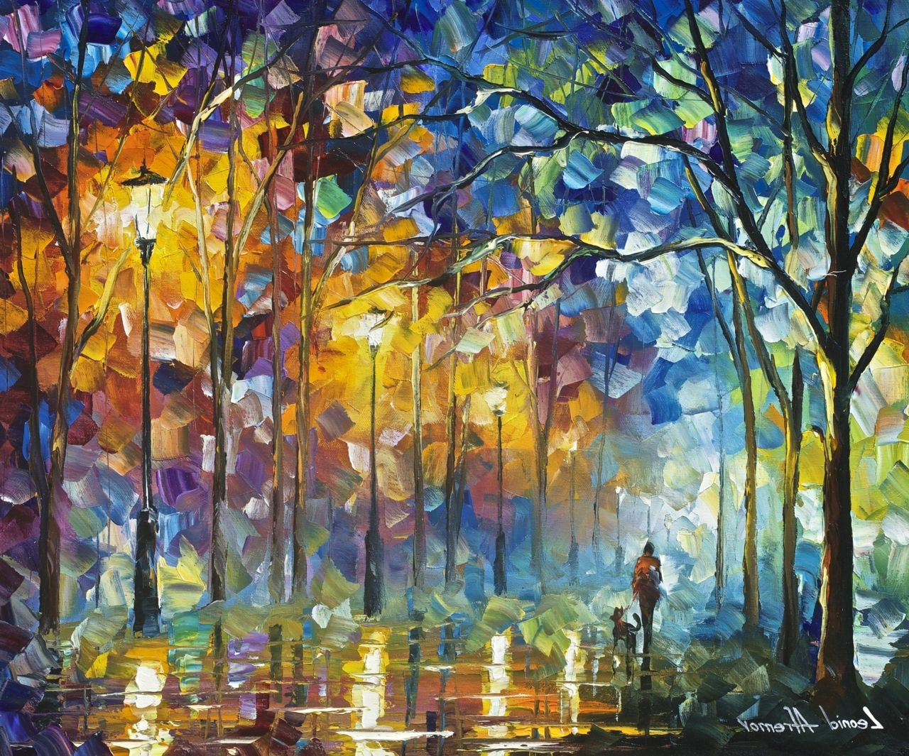 Wall Art Paintings Intended For Well Known Friends Forever – Original Oil Painting – Wall Art Canvasleonid (View 10 of 15)