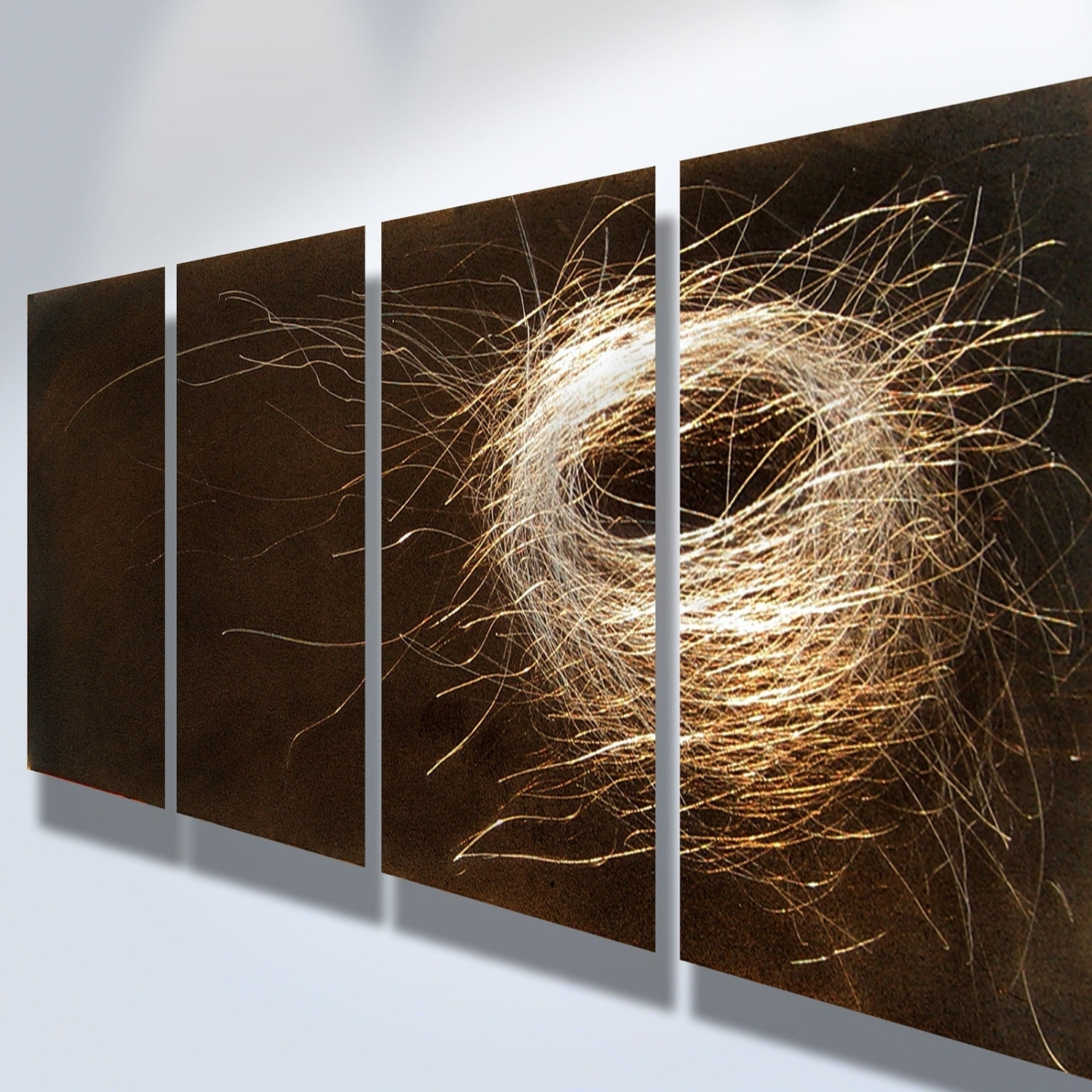 Wall Art Panels Intended For Latest Popular Metal Wall Art Panels — Wazillo Media : Ways To Hang Metal (View 11 of 15)