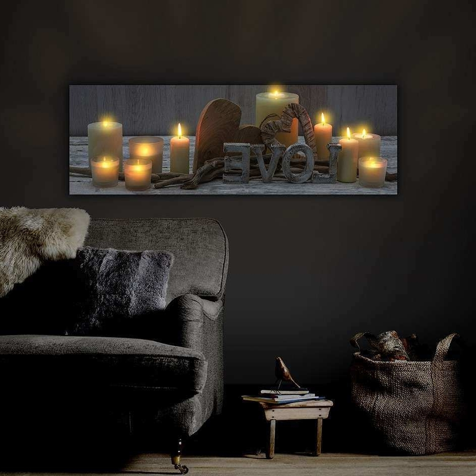 Wall Art Pertaining To Well Known Light Up Wall Art (View 12 of 15)